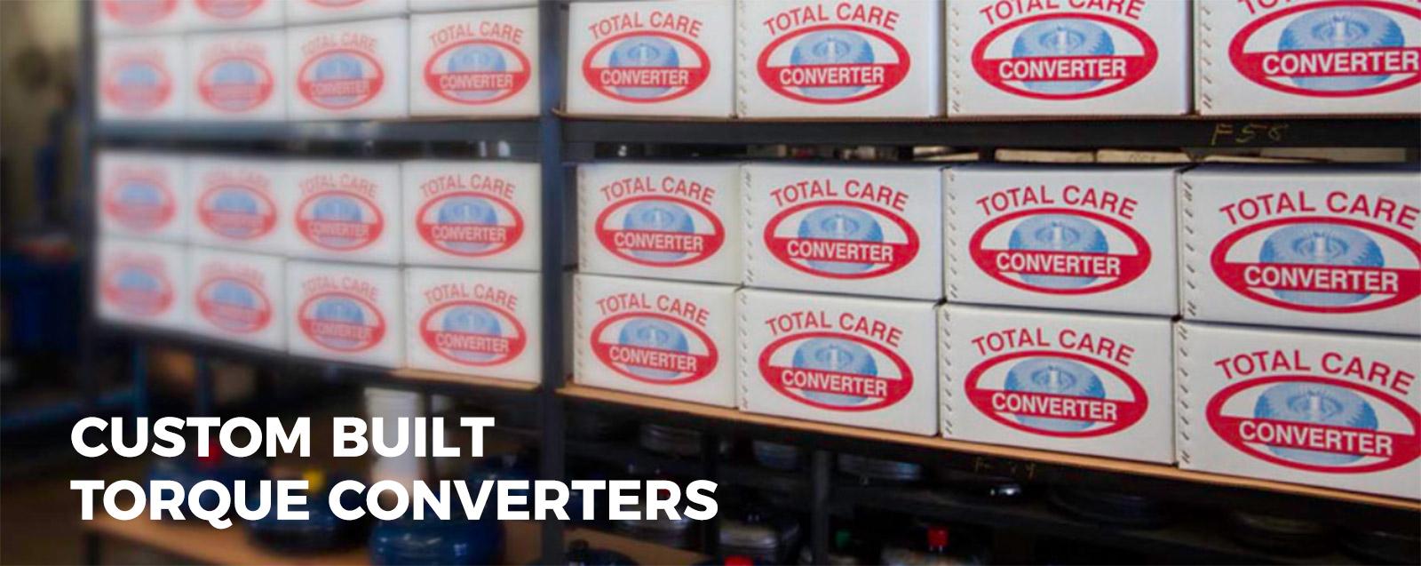 Custom Built Torque Converters